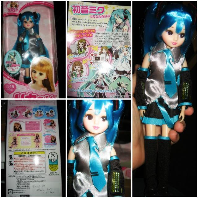 Licca as Hatsune Miku!